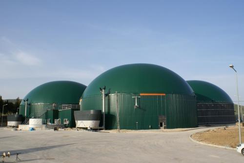 2.19 MW Biogaz Santrali İnşaatı